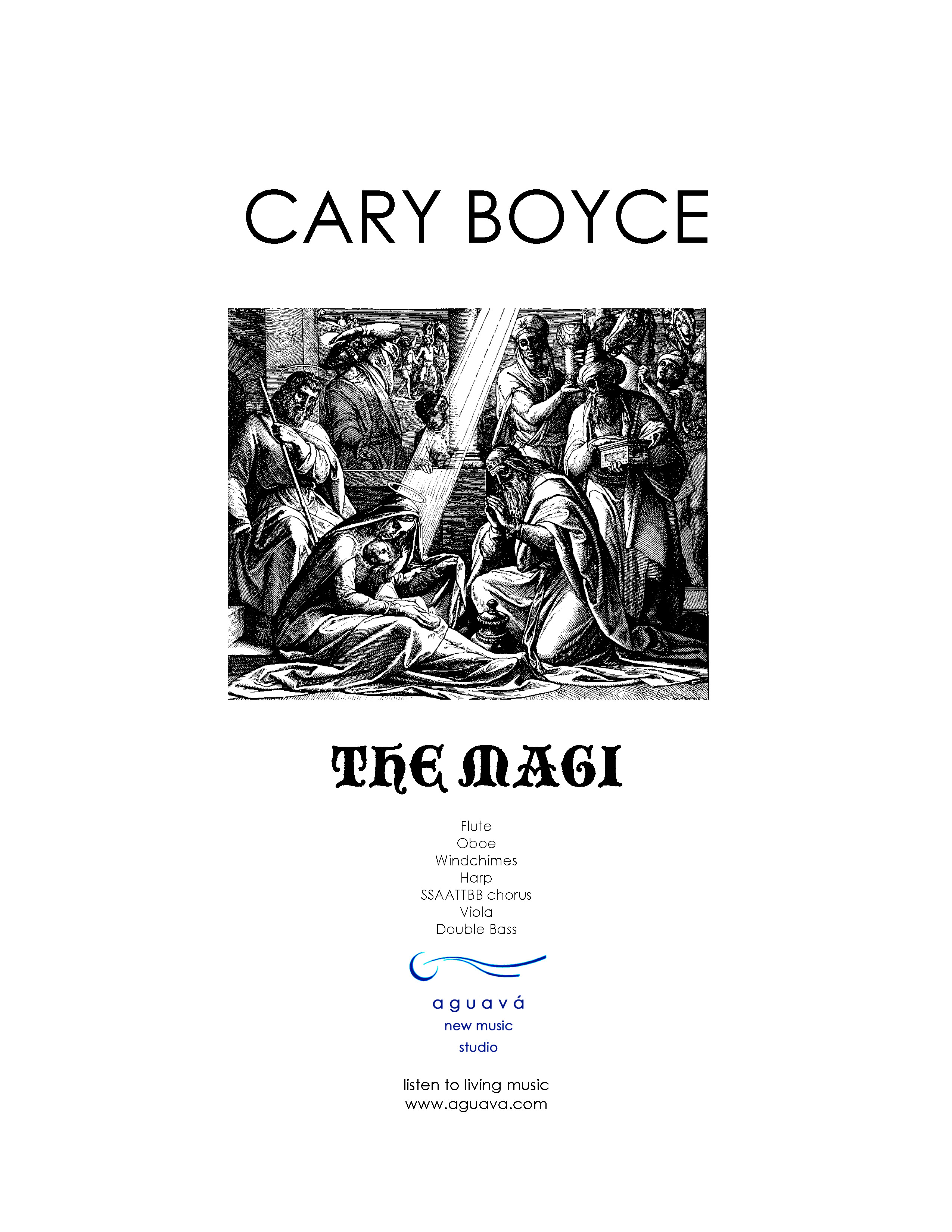 Magi w/Orchestra Cover